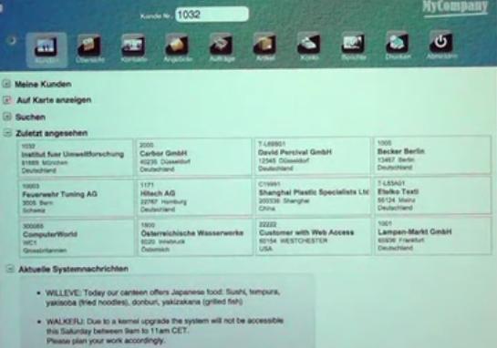 CIS mobile (Live Demo) – Dr. G. Rodé Synactive GmbH