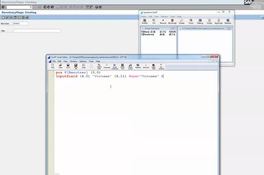 Feldinhalt von einem andern Screen übertragen
