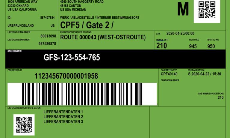 Einfache Erzeugung von Etiketten  mit Daten aus dem SAP ERP oder S/4 HANA
